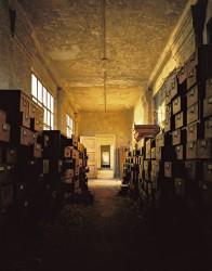 E15 Measles Ward, Oak Files Cabinets