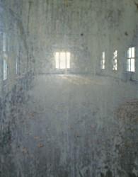 E24 Measles Ward through window