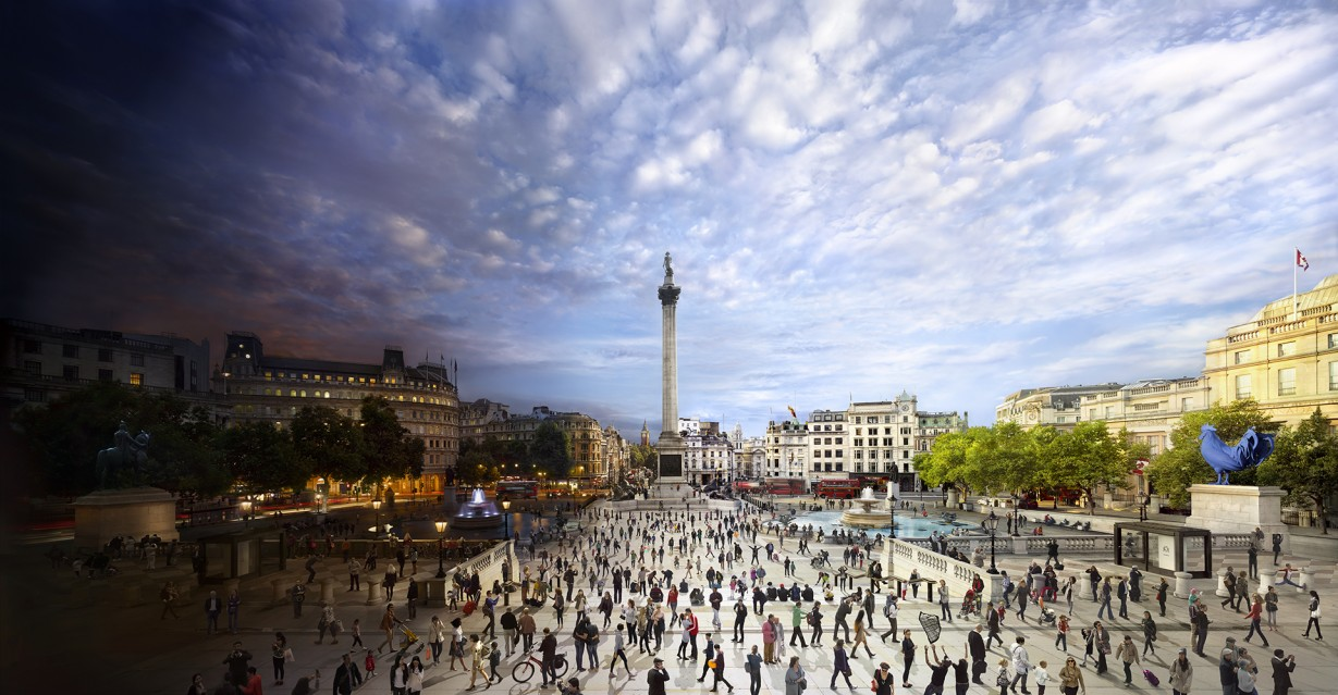 Trafalgar Square, London - Stephen WILKES