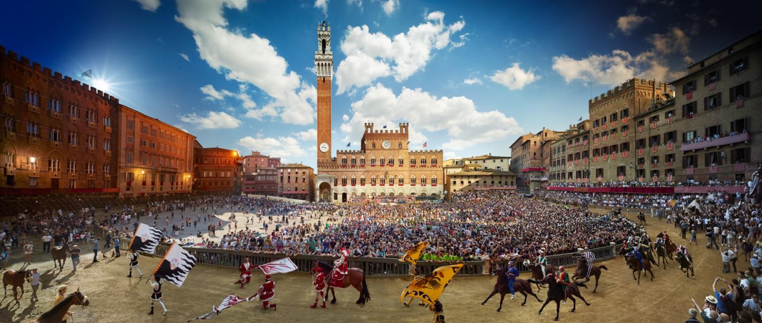 Palio, Siena, Italy - Stephen WILKES