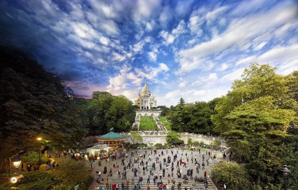Sacre Coeur, Paris - Stephen WILKES