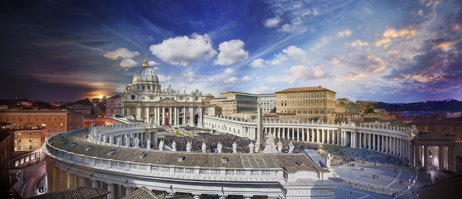 Easter Mass, Vatican, Rome, Italy - Stephen WILKES