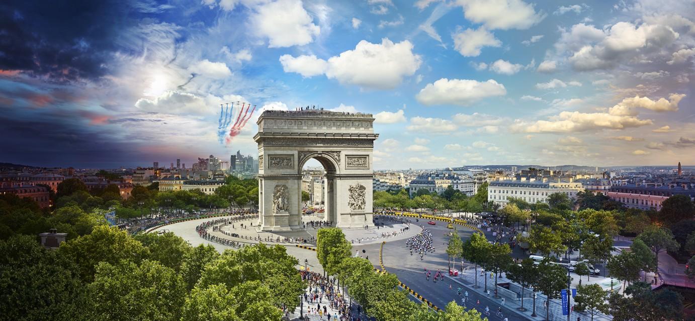 Tour de France, Paris - Stephen WILKES | Gallery