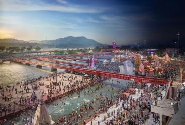 Kumbh Mela Festival, Haridwar, India