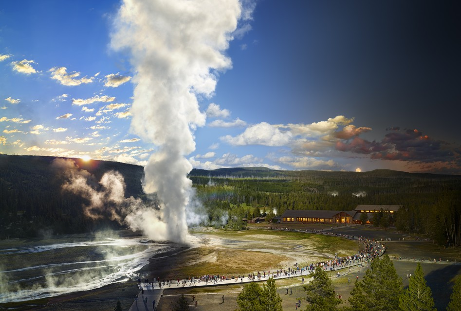 Old Faithful, Yellowstone National Park - Stephen WILKES