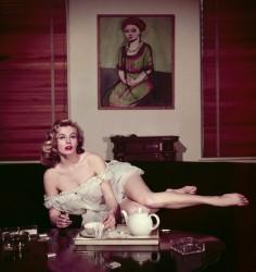 Anita EKBERG, 1954