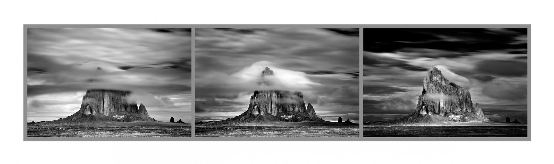 Shiprock Triptych - Mitch DOBROWNER