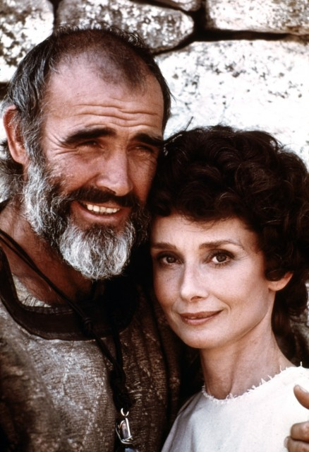 Audrey Hepburn et Sean Connery, 1976 - Douglas KIRKLAND