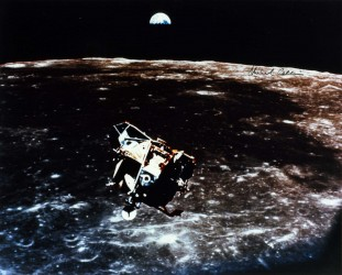 Apollo 11, 'Eagle' leaving Moon