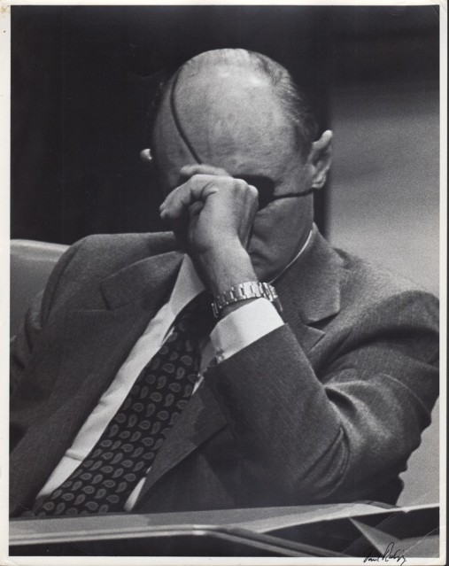 Moshe Dayan, 1974 - David RUBINGER