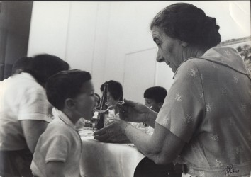Golda Meier, Shabbat meal, 1963