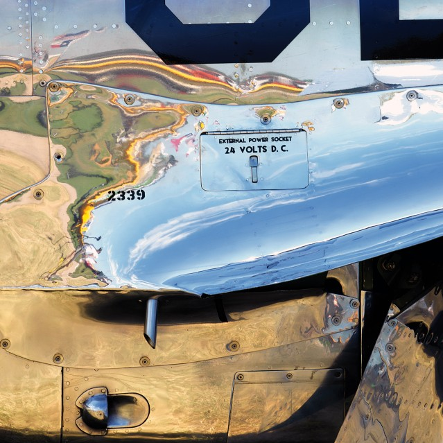 North American P-51 Mustang (square 1) - Manolo CHRETIEN