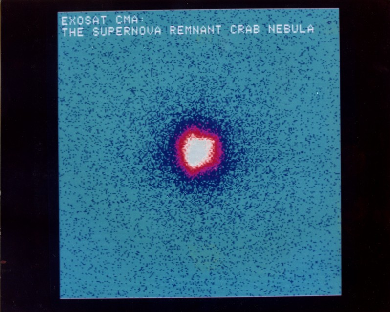 ESA ESTEC Nébuleuse du Crabe, 1985 - Deep Space