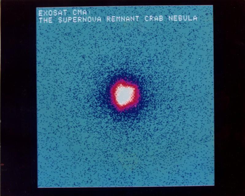 ESA ESTEC Supernova Remnant Crab Nebula, 1985 - Deep Space