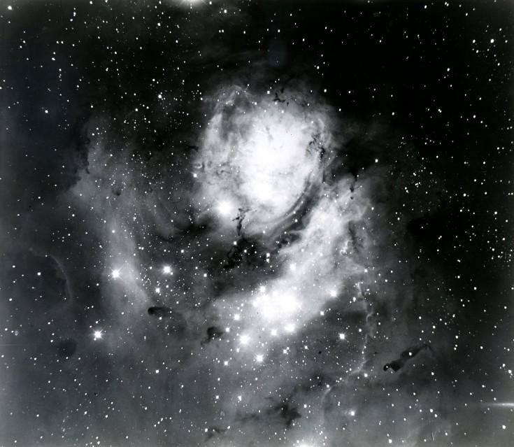 Nébuleuse de la Lagune, constellation du Sagittaire, 1919 - Deep Space
