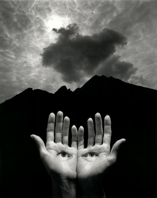 Homage to Herbert Bayer, 2004 - Jerry UELSMANN