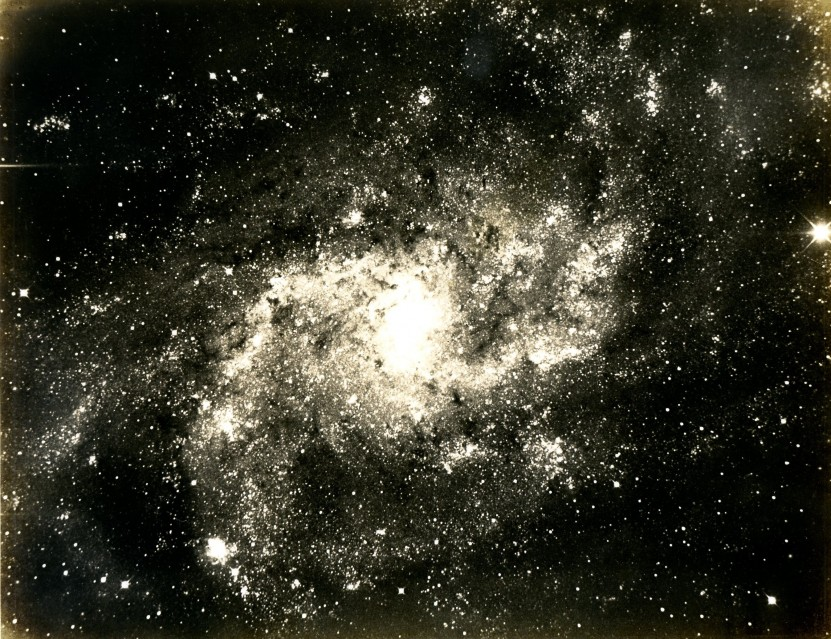 Triangulum Galaxy, 1910 - Deep Space