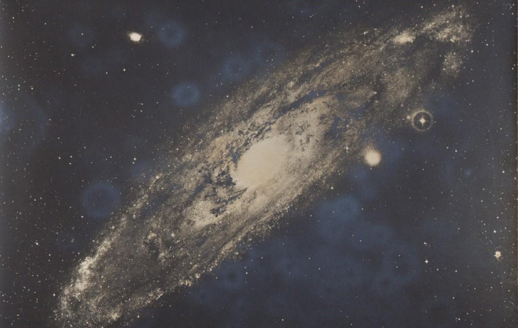Galaxie d'Andromède, c. 1950 - Deep Space