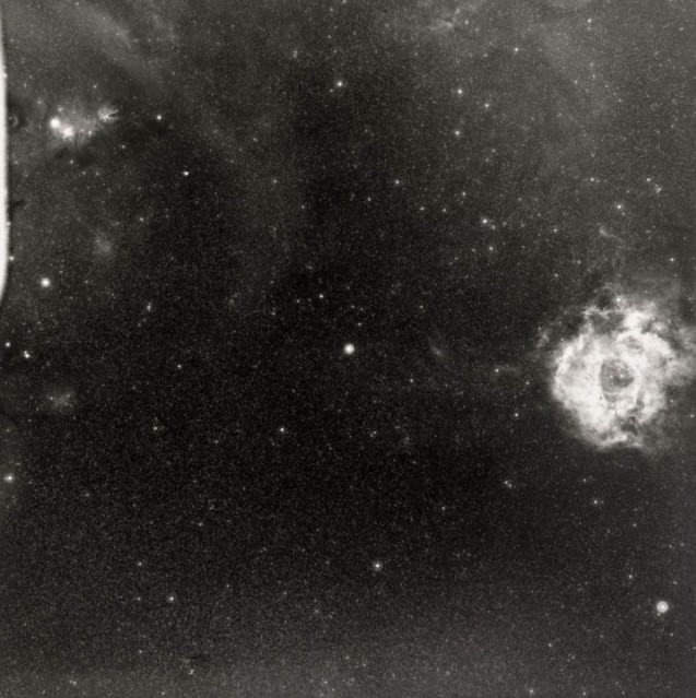 Milky Way and Rosette Nebula, c. 1950 - Deep Space