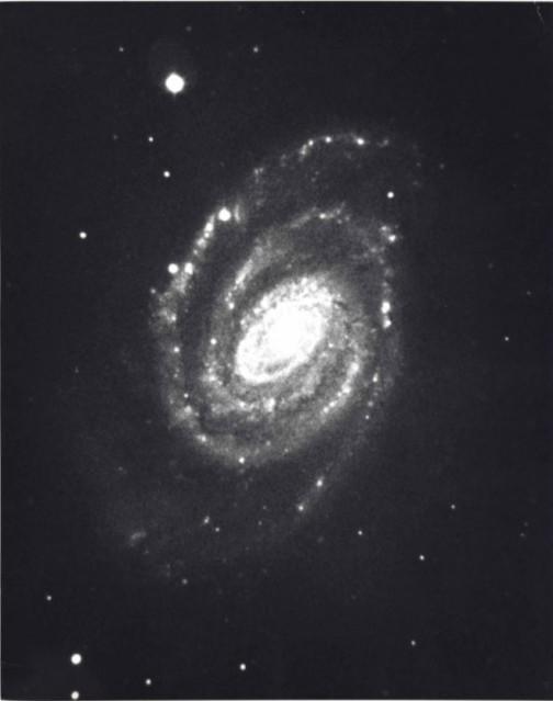 Galaxie en Spirale, c. 1950 - Deep Space