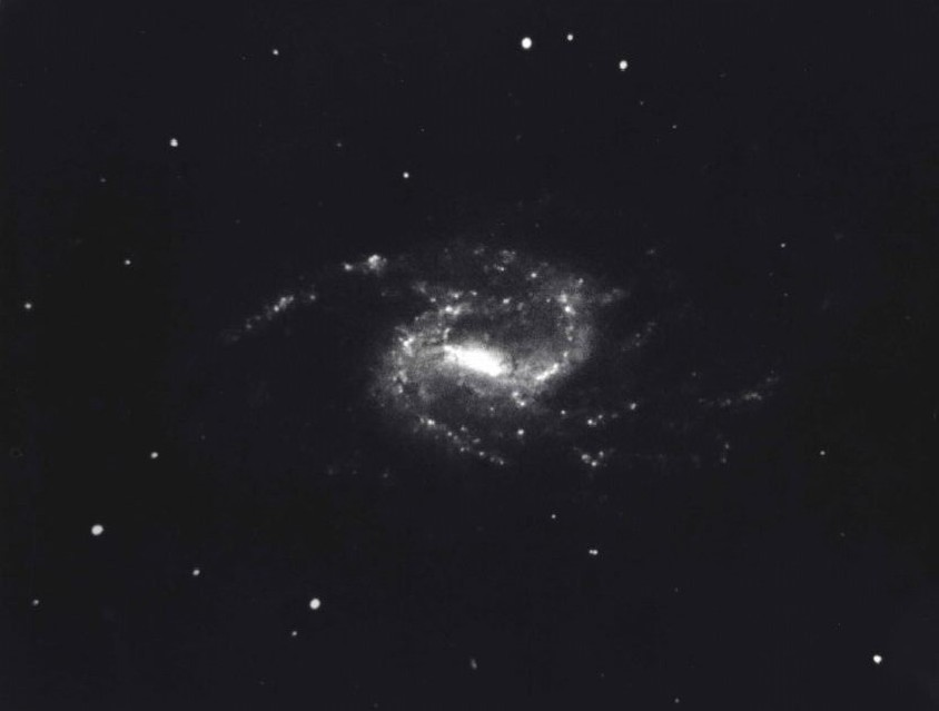 The Great Barred Spiral Galaxy, c. 1950 - Deep Space