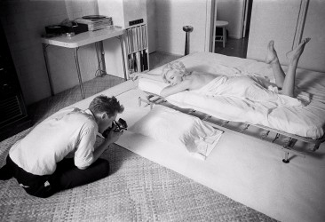 Marilyn with Douglas self portrait, 1961