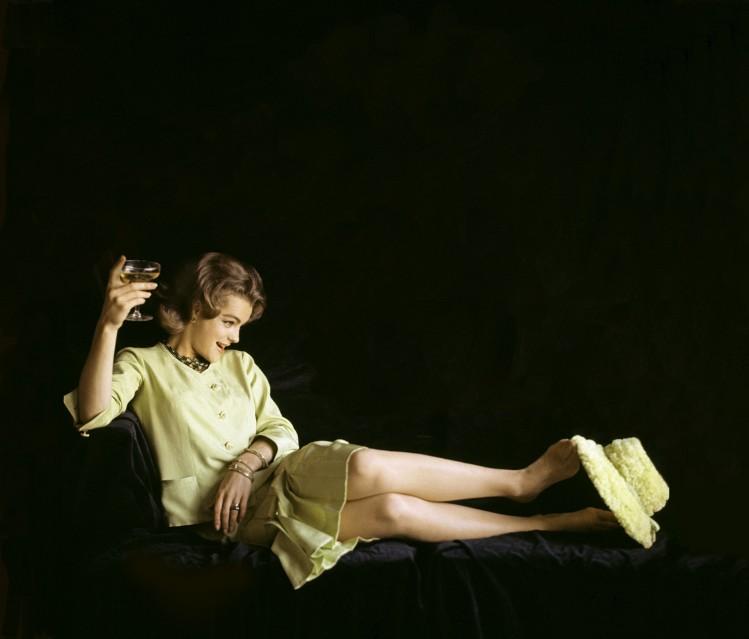 Romy Schneider, 1962 - Douglas KIRKLAND