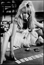 Brigitte Bardot, Mexico, 1965, noir et blanc