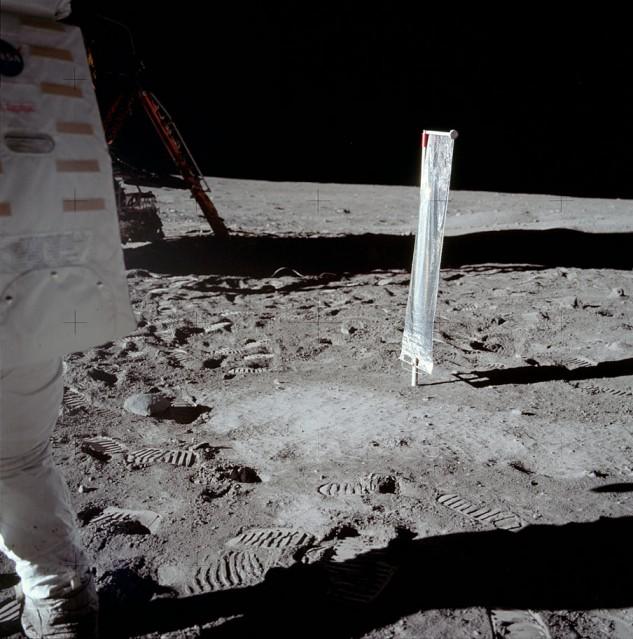 Apollo 11, Capteur solaire (AS11- 40- 5916) - NASA