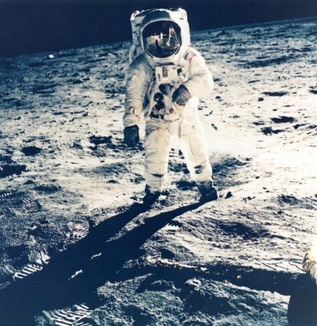 Apollo 11, Buzz Aldrin sur la Lune (AS11-40-5903) - NASA