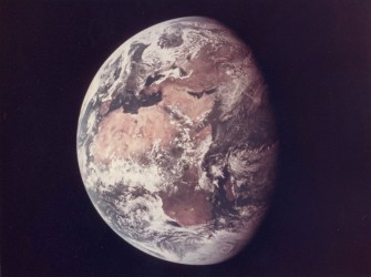 Apollo 11, Photography of Earth (AS11-36-5355)