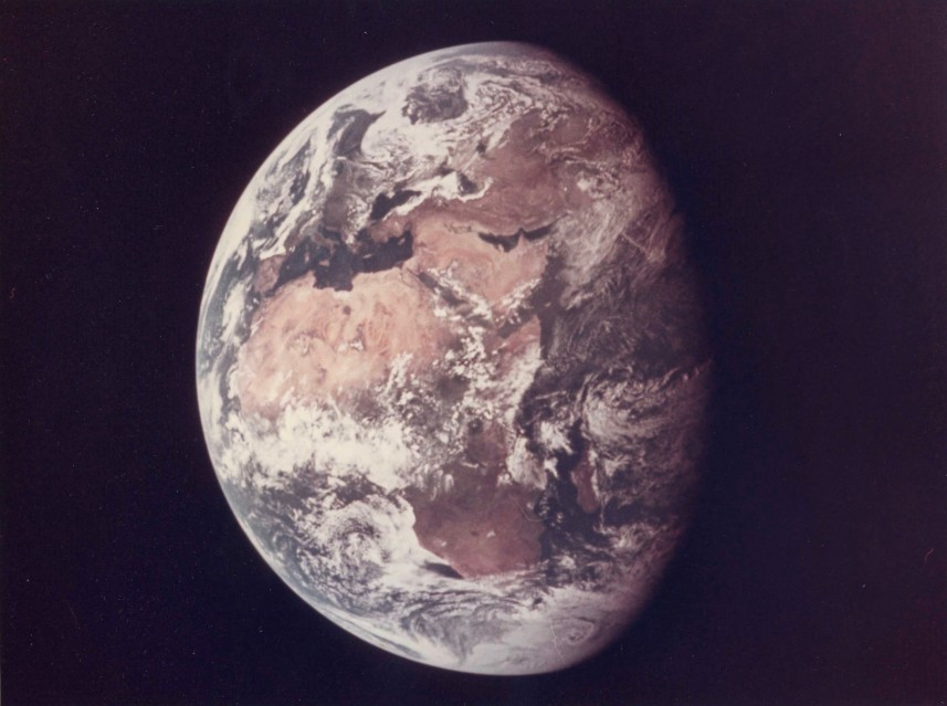 Apollo 11, Photography of Earth (AS11-36-5355) - NASA