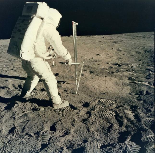 Apollo 11, Capteur de vent (AS11-40-5963) - NASA