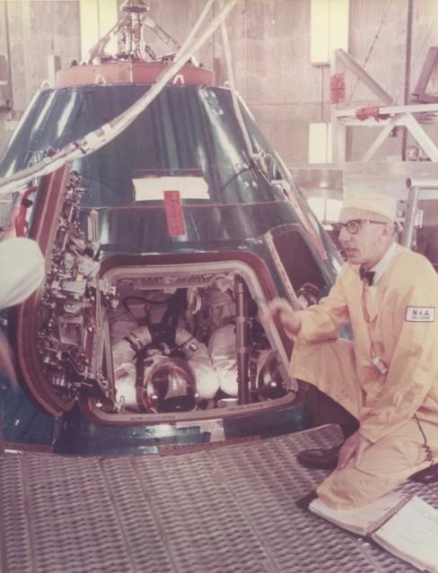 Apollo 11, Préparations avant le lancement  (S-69-32263) - NASA