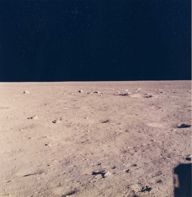 Apollo 11, Lunar Surface (AS11- 37- 5458) - NASA