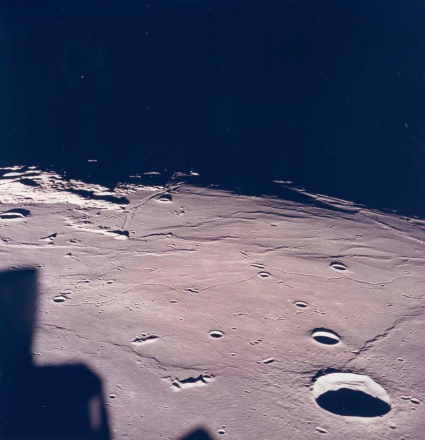 Apollo 11, Lunar Landscape (AS11- 37- 5437) - NASA