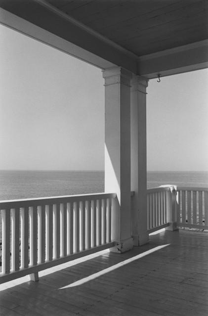 Porch, Monhegan Island, 1971 - George TICE