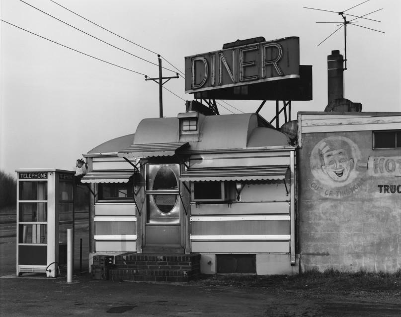 Steve's Diner, 1974 - George TICE