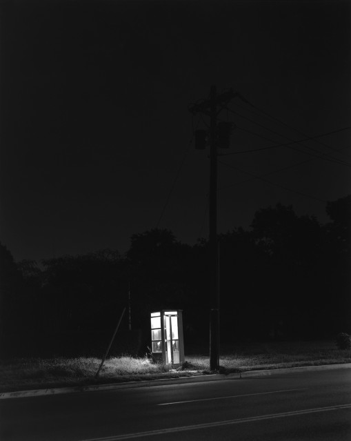 Telephone Booth, 3 a.m., 1974 - George TICE