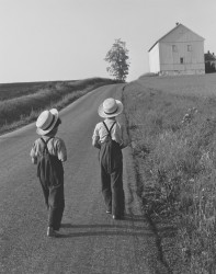 Two Amish Boys, 1962
