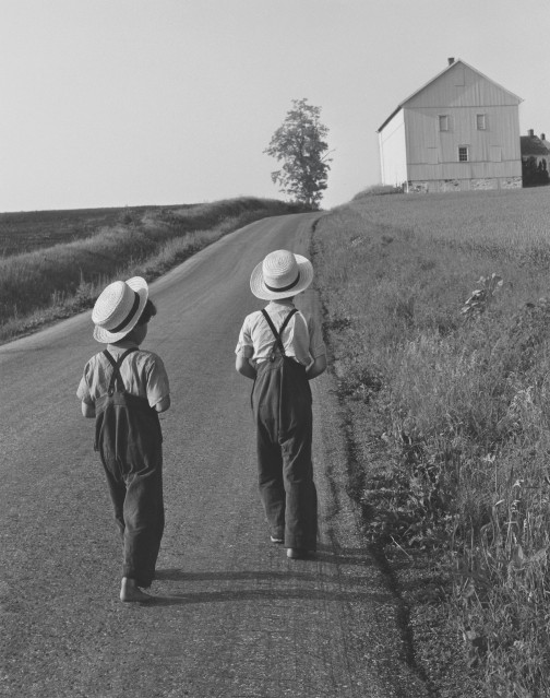 Two Amish Boys, 1962 - George TICE