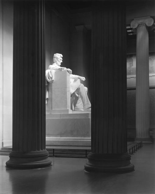 Lincoln Memorial, 1983 - George TICE