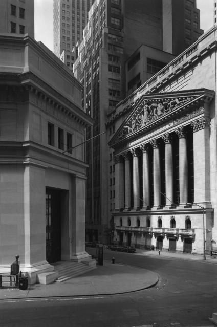 Wall Street, 1987 - George TICE