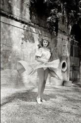 Sophia Loren Twirling, 1955