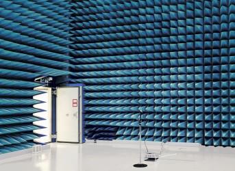 Blue Anechoic Chamber