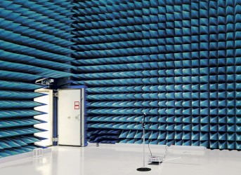 Blue Anechoic Chamber
