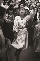 Gypsy dancer, Seville, Spain, 1952