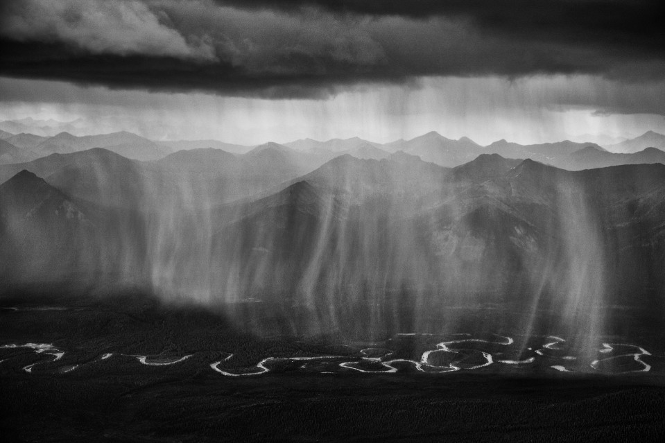 Rainfall Over the Peel Watershed - Paul NICKLEN