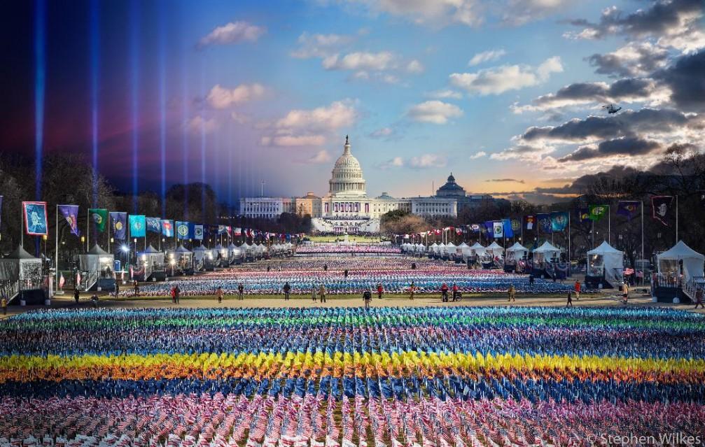 Biden Harris Inauguration, Washington DC, 2021 - Stephen WILKES