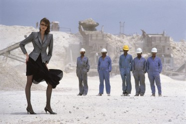 Givenchy - Vogue - Construction Workers - Barhein